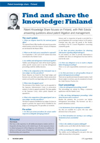Patent-Knowledge-Share-Finland